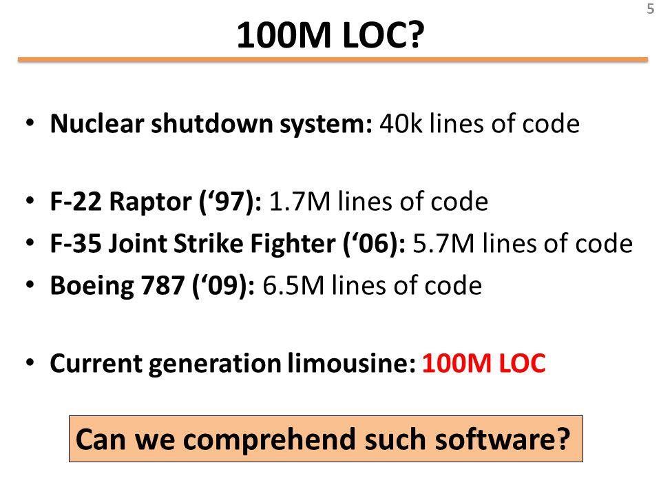 100M LOC.
