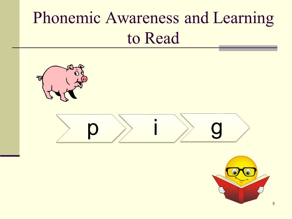 Phonological and Phonemic Awareness  An example of phonological awareness, the word carpet has two syllables, each one composed of three phonemes (Sousa, 2005, p.