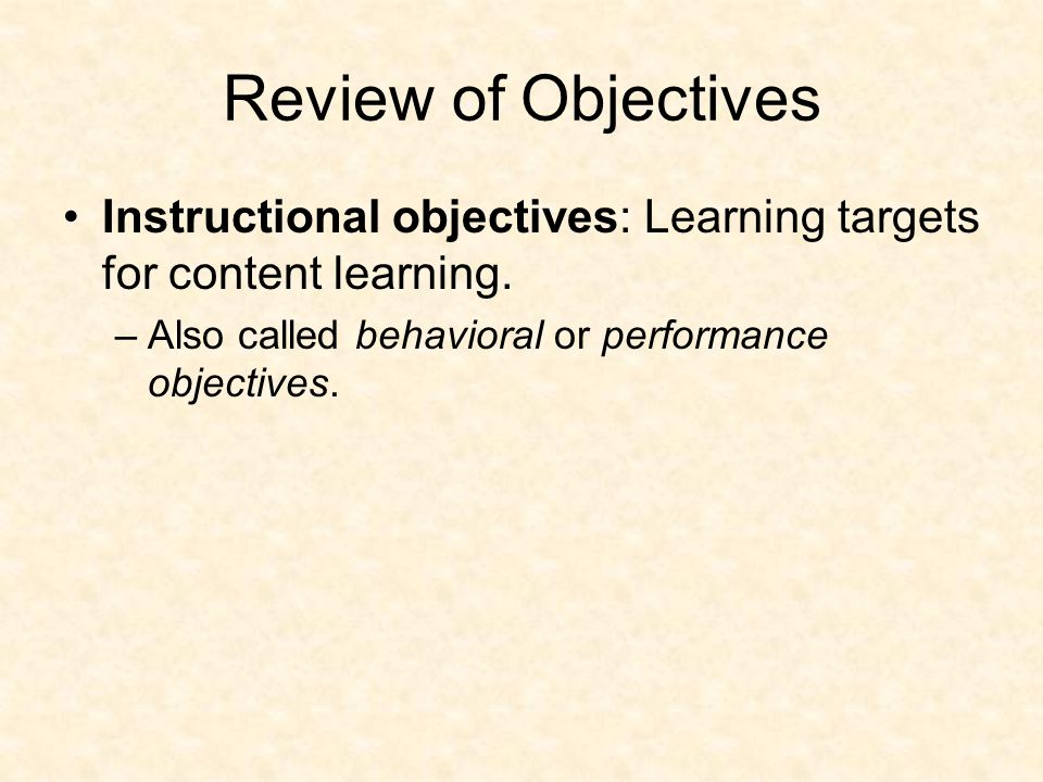 Ways to Address The Nine Events In Instruction 1.Gain attention.