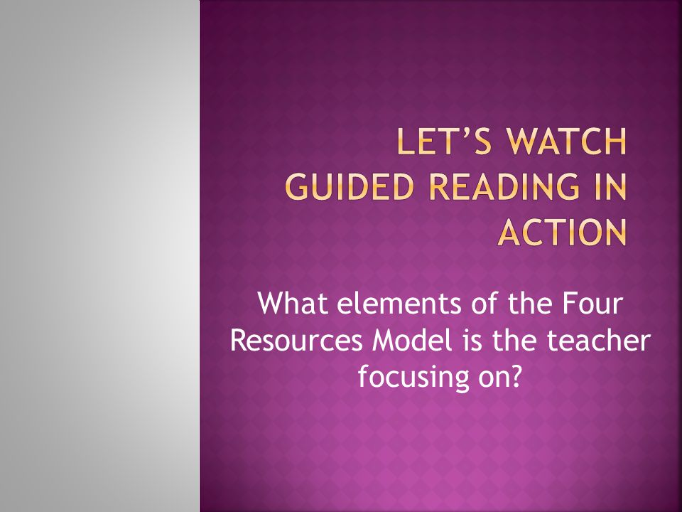Reading is a message- gaining, problem solving activity that increases in power the more it is practiced. Reading