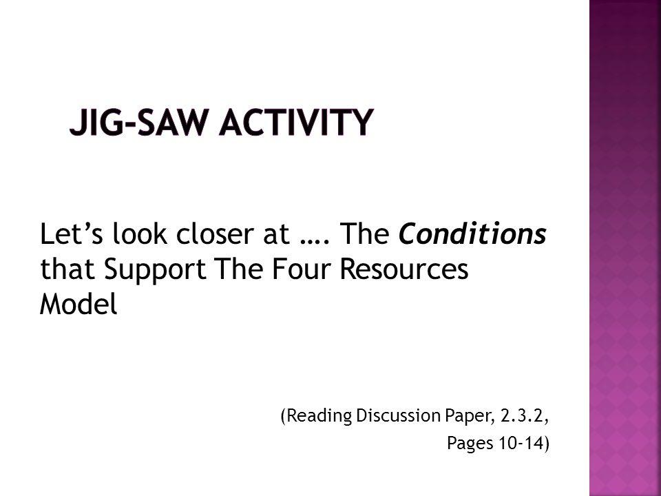 1.Assessment of student progress using on-going running records 2.