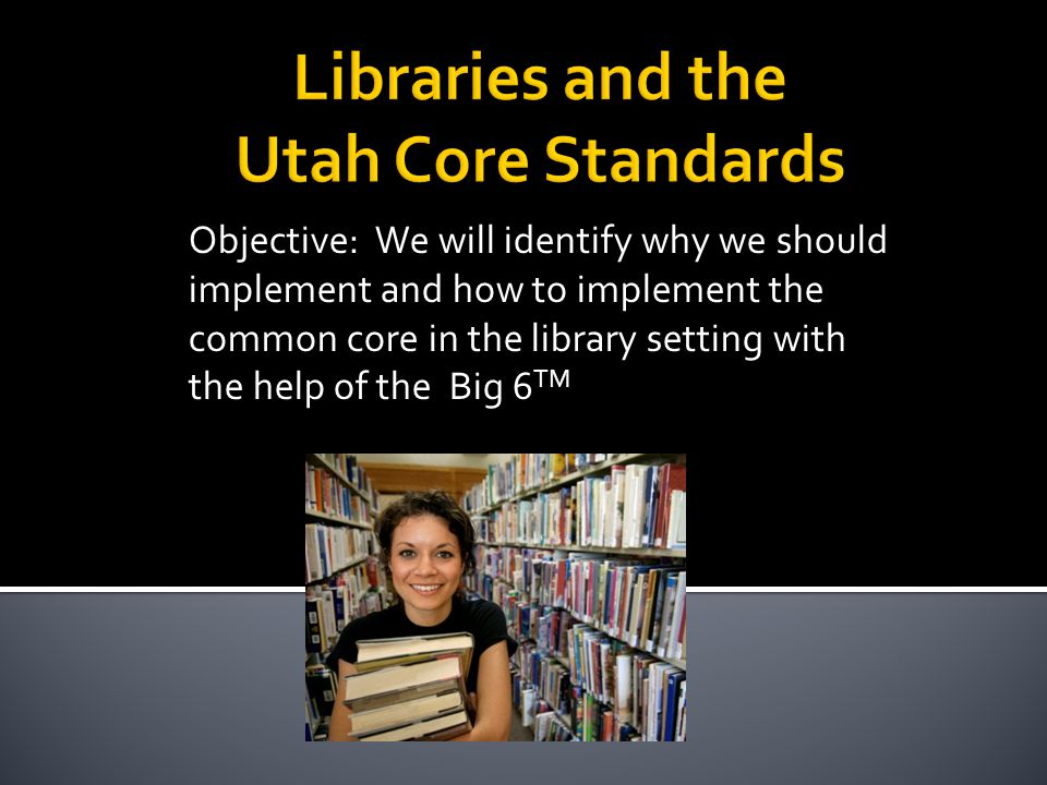  Key Design Considerations of the Common Core  Research and media skills blended into the Standards as a whole ▪ The need to conduct research and to produce and consume media is embedded into every aspect of today's curriculum.