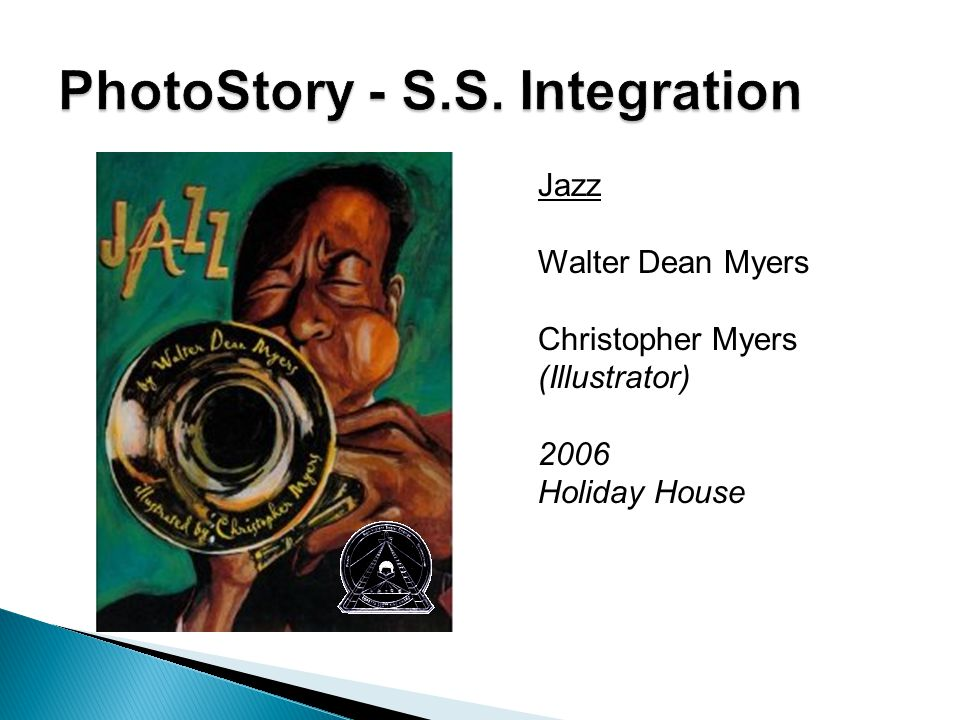 Jazz Walter Dean Myers Christopher Myers (Illustrator) 2006 Holiday House