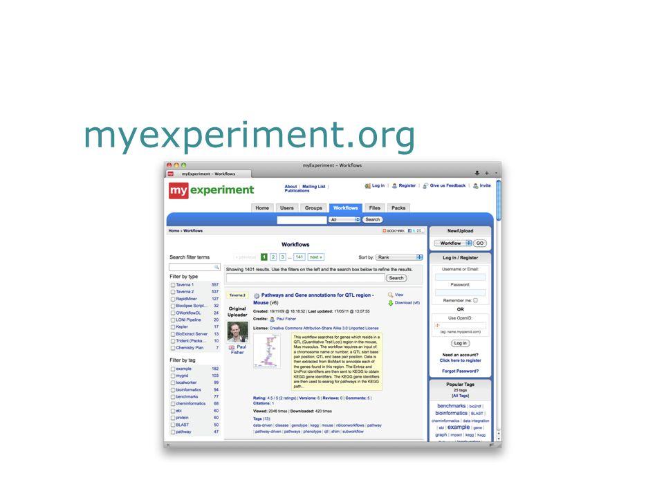 myexperiment.org