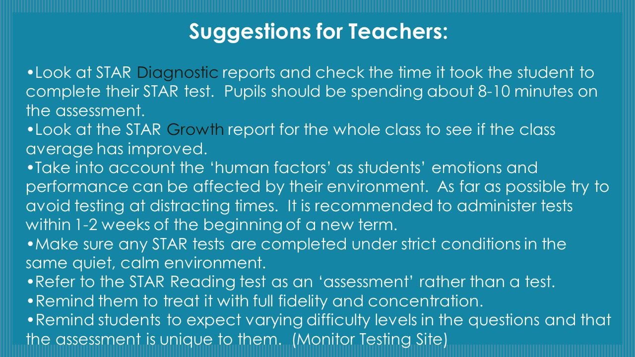 Classroom Practices: The 10 Most Important 1.Understand Accelerated Reader and STAR Reading 2.Find the zone of proximal development (ZPD).