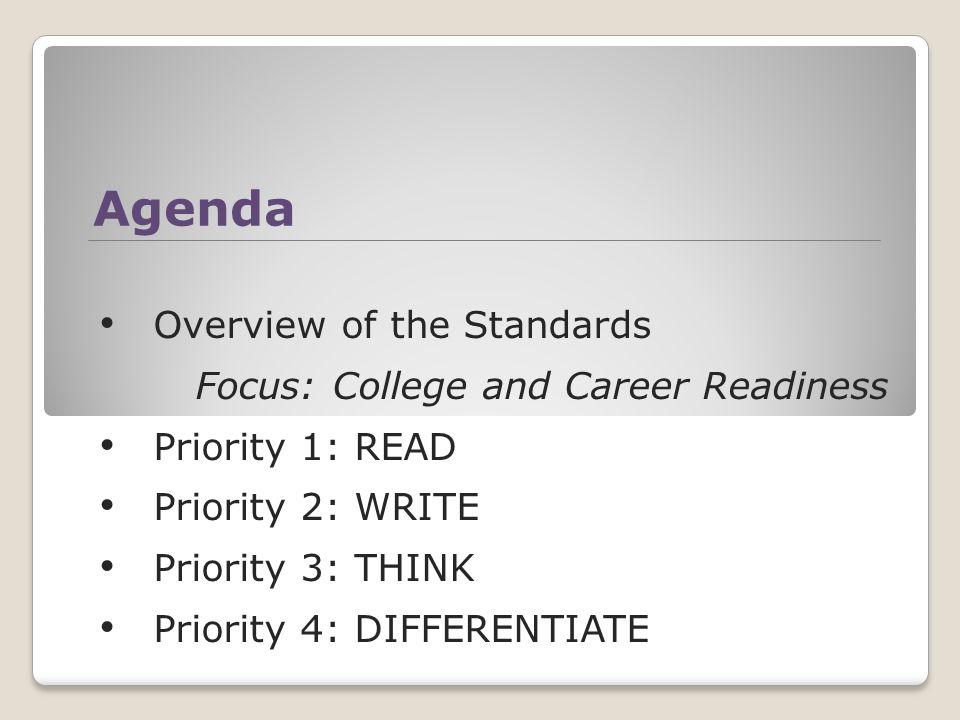 Preparing for Common Core State Standards English Language Arts
