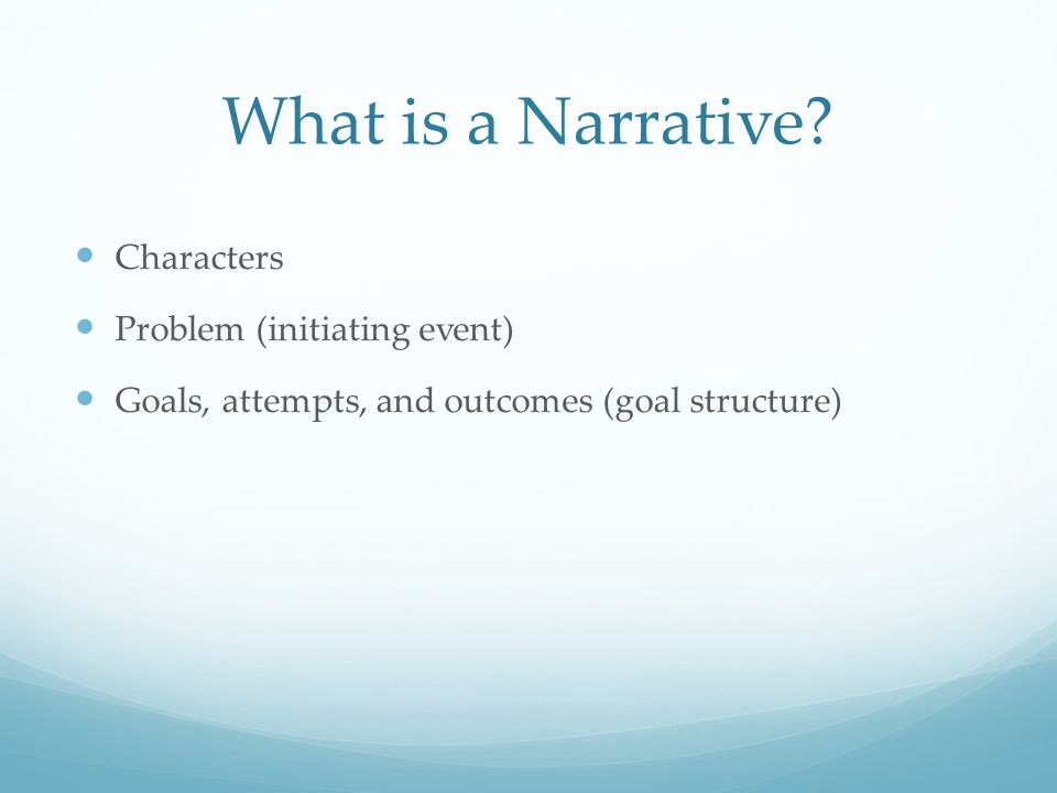 Understanding characters' goal plans plays an important role in narrative comprehension.