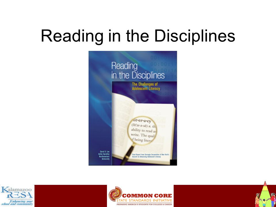 Instructiona Reading in the Disciplines