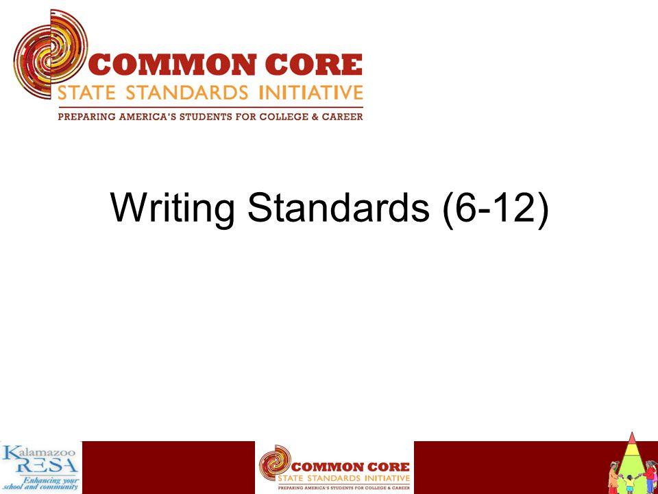 Instructiona Writing Standards (6-12)