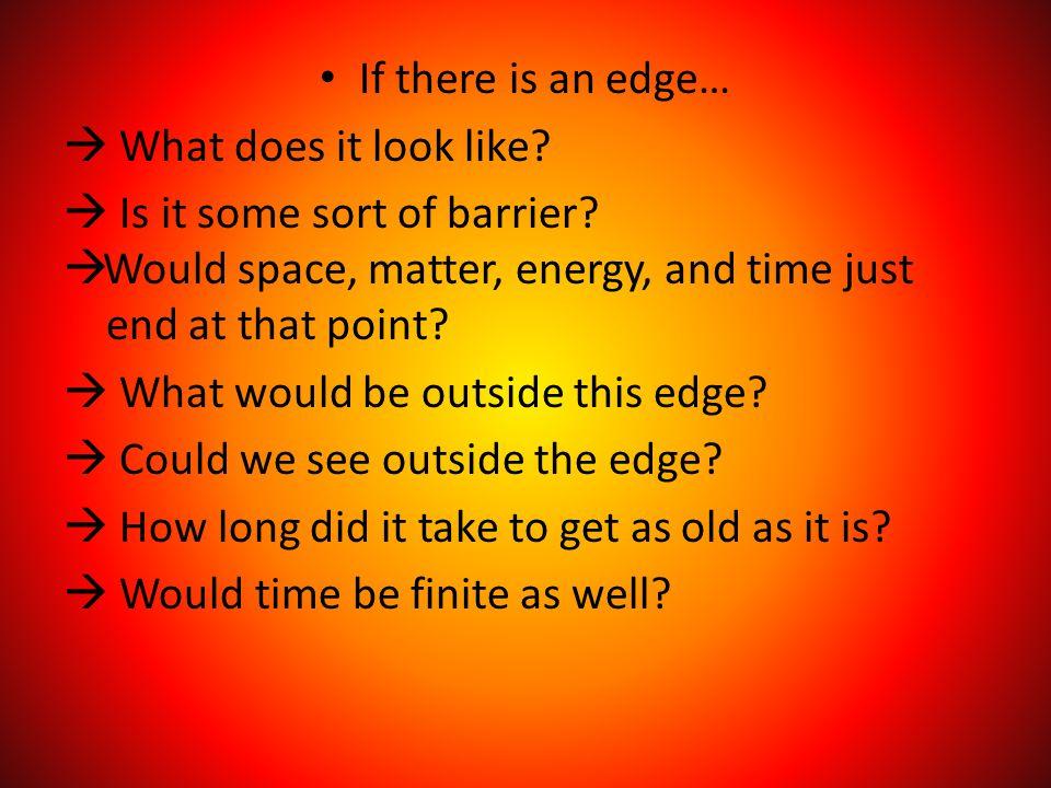 The Edge-Center Problem 2 Possibilities 2.