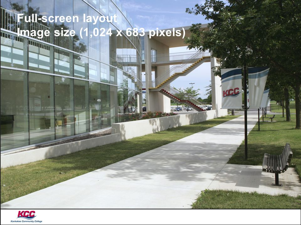 Full-screen layout Image size (1,024 x 683 pixels)
