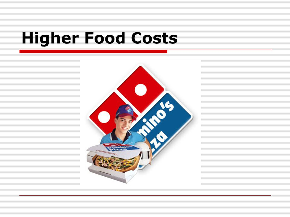 Higher Food Costs