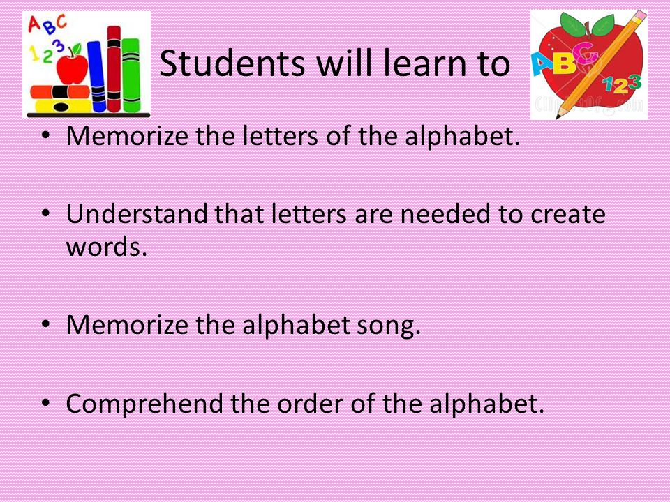 Alphabet Questions What are the letters of the alphabet.
