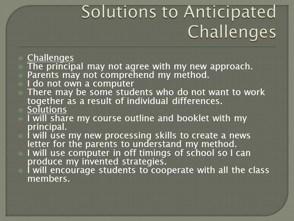 September: I will focus on questioning skills.