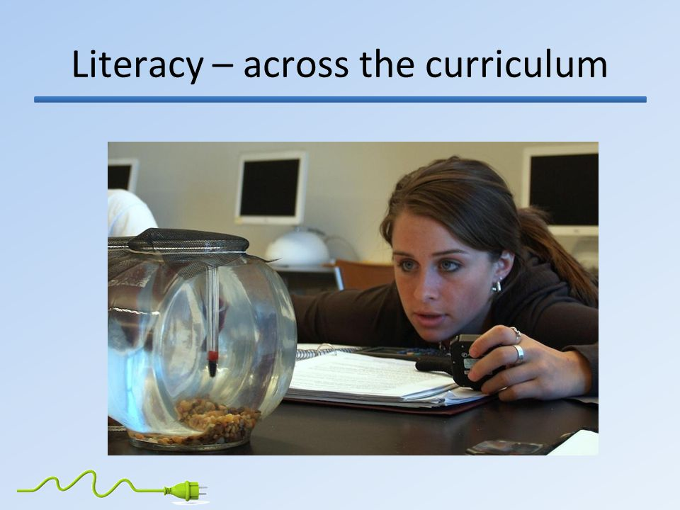 Literacy – across the curriculum