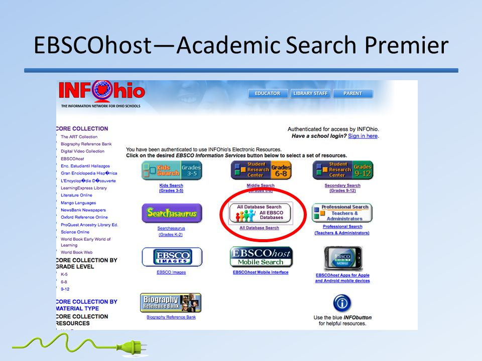 EBSCOhost—Academic Search Premier