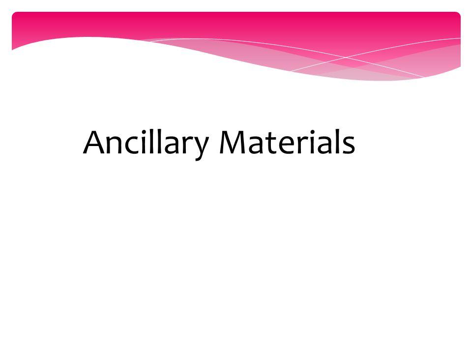Ancillary Materials