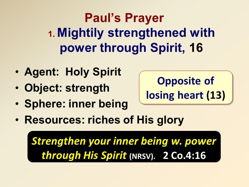Paul's Prayer 1.
