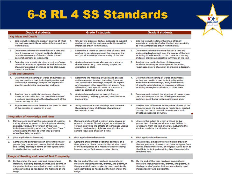 6-8 RL 4 SS Standards