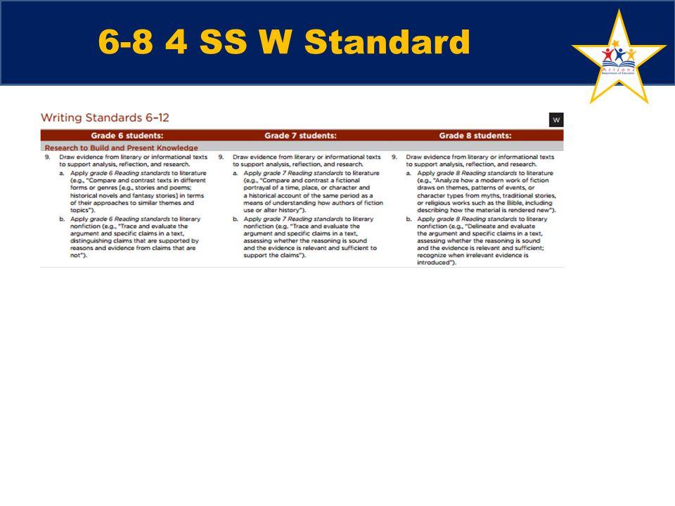 6-8 4 SS W Standard
