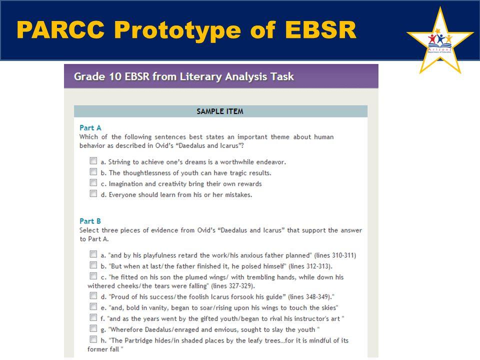 PARCC Prototype of EBSR