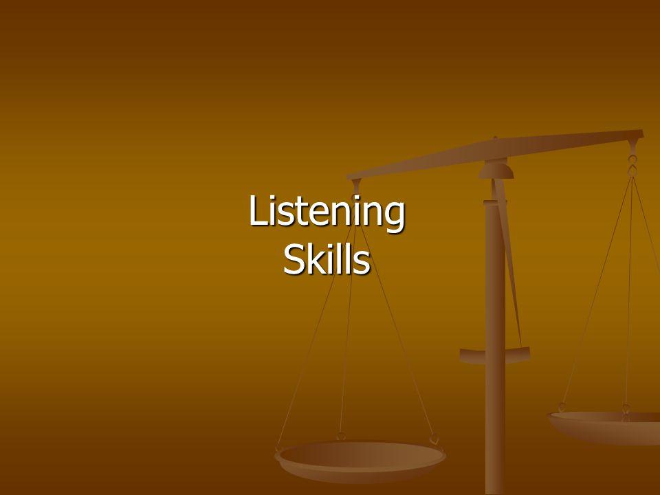 ListeningSkills