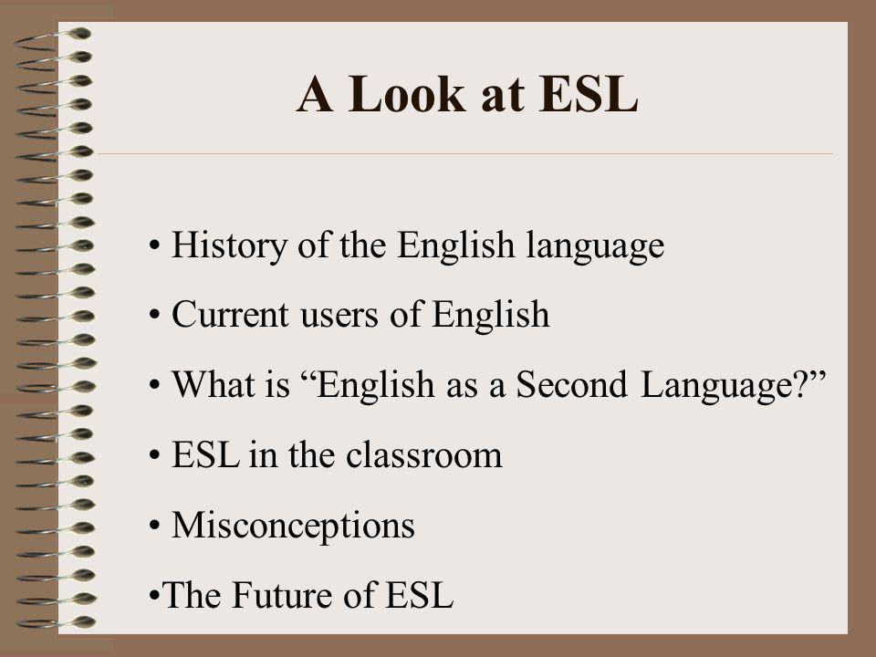 English Speakers vs.