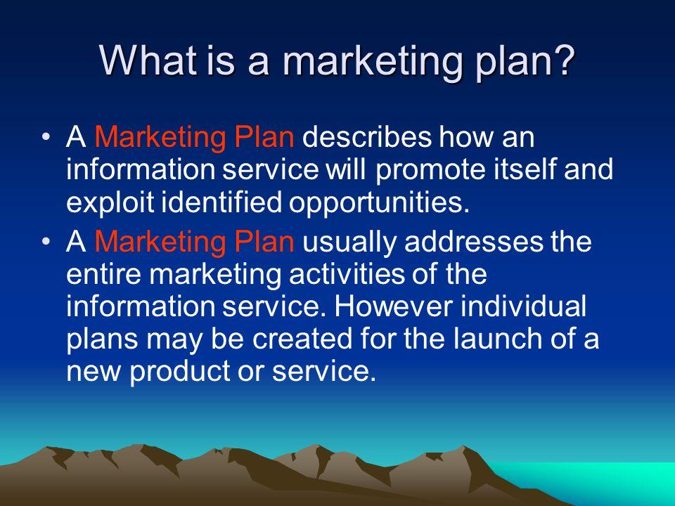 Why plan marketing.