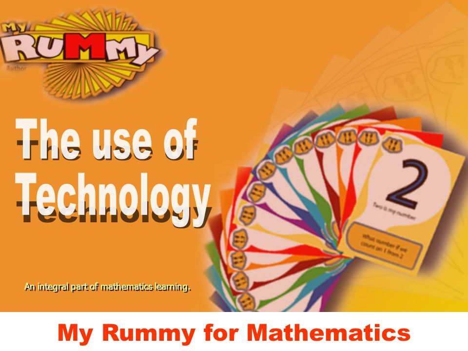 My Rummy for Mathematics An integral part of mathematics learning.