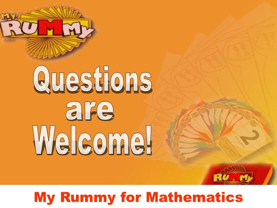 My Rummy for Mathematics