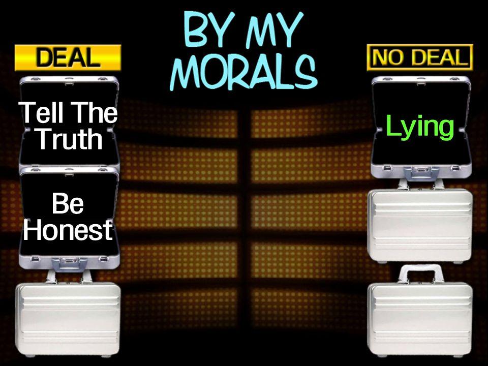 Tell The Truth Lying Be Honest