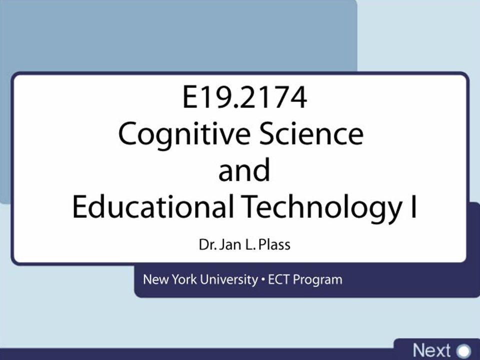 Cognitive Science Multimedia Effect