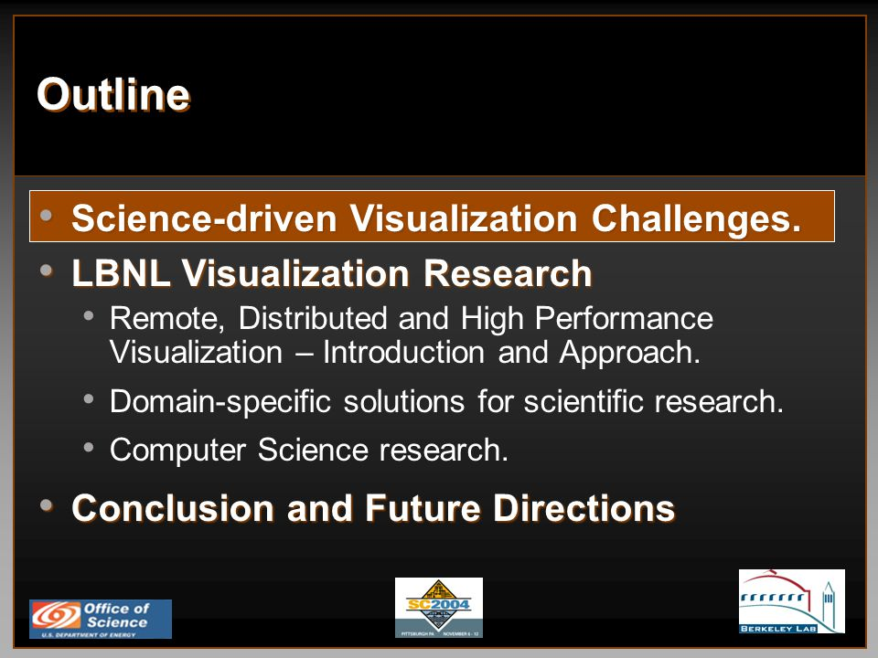 Fundamental Remote and Distributed Visualization Research Challenges, ctd.