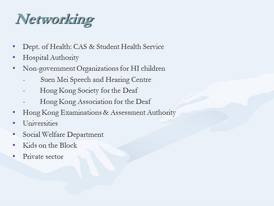 Dept. of Health: CAS & Student Health ServiceDept.