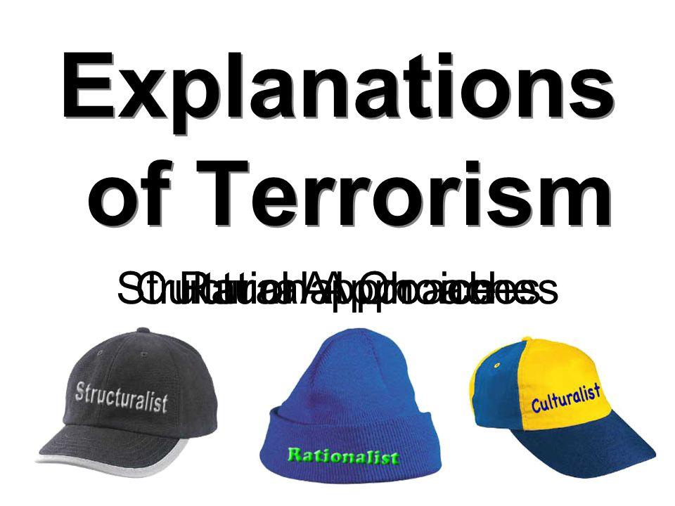 19 What Makes a Terrorist.