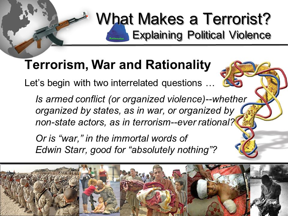 30 What Makes a Terrorist.