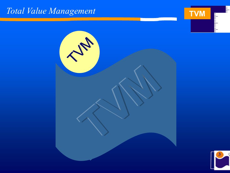 TVM 3 Total Value Management