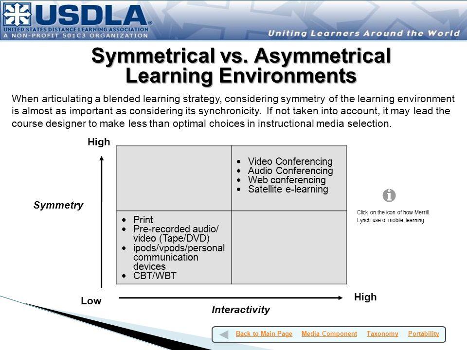 Symmetrical vs.