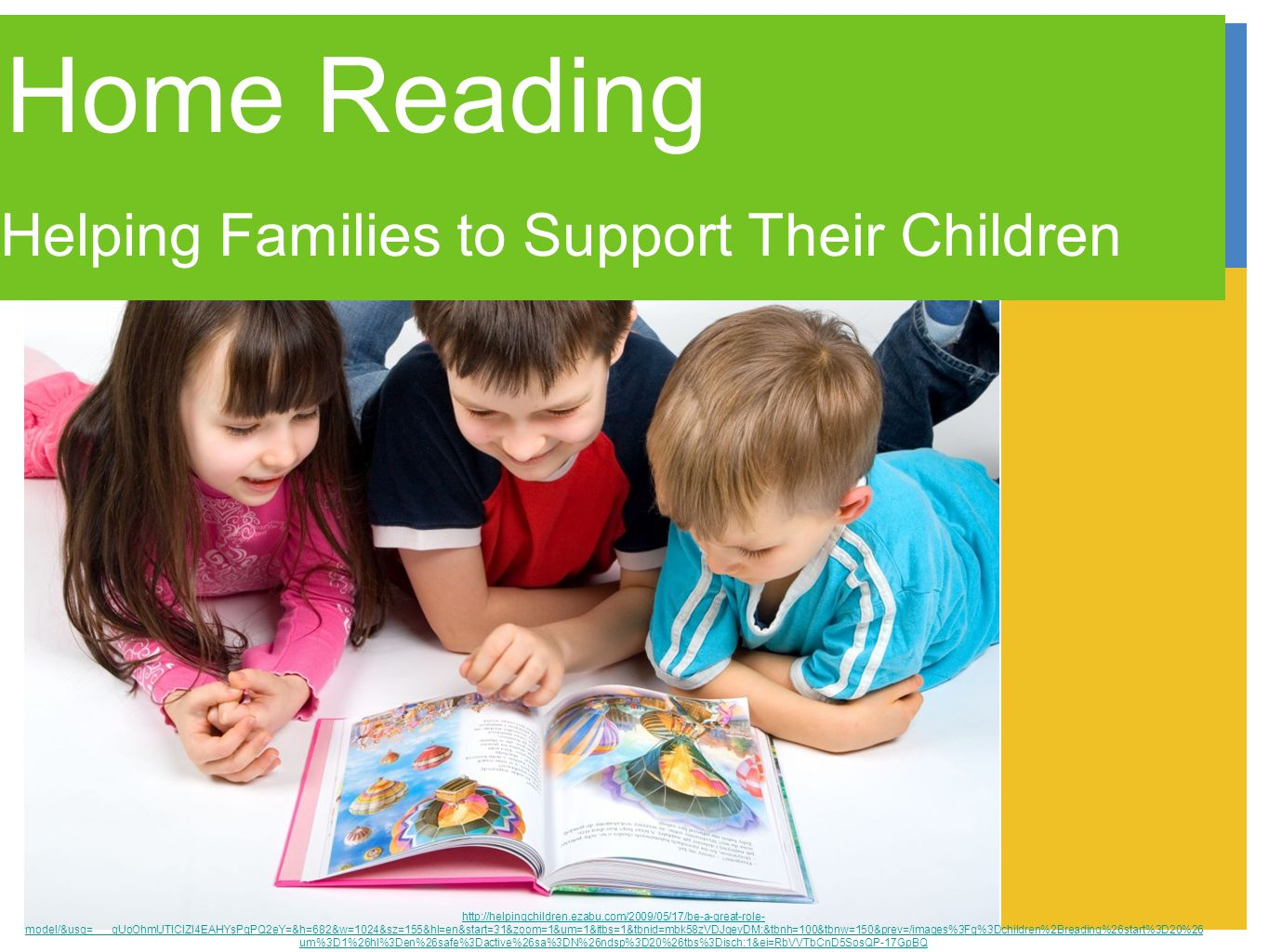 Continue to read pictures books to/with your child Visit the library.....often.