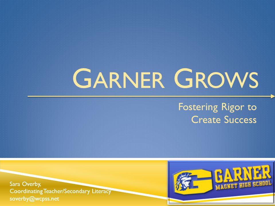 GMHS School Improvement Plan October, 2013