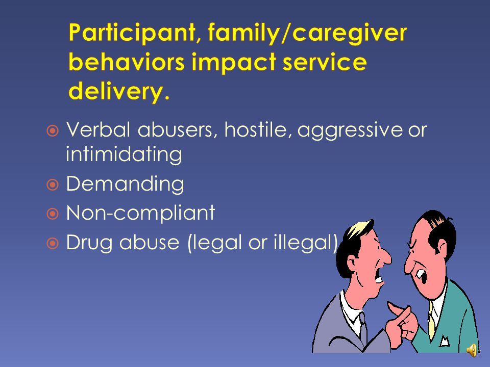  Support system in the home.  Other agencies involved with caregiving.