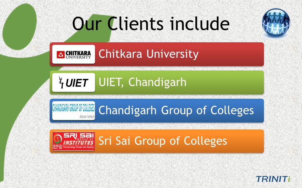 Baddi University Chitkara College of Engineering Doaba College of Engg.