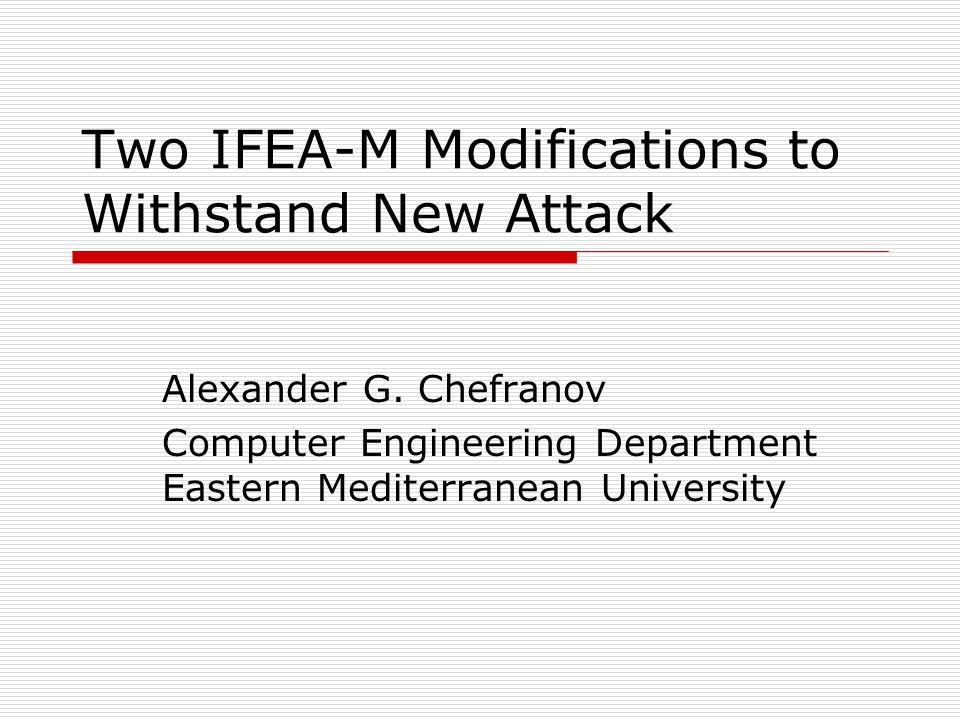 Introduction  Fast Encryption Algorithm for Multimedia (FEA-M) uses matrix transforms for encryption/decryption.