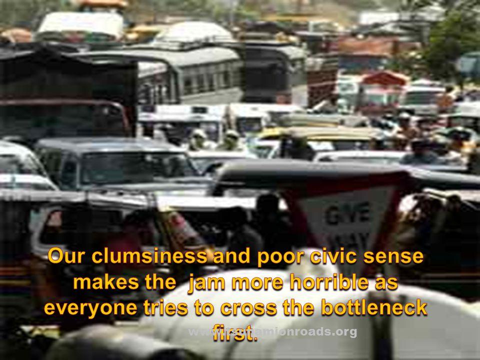 Wake up friends! Before traffic finally ceases like - - www.tsunamionroads.org