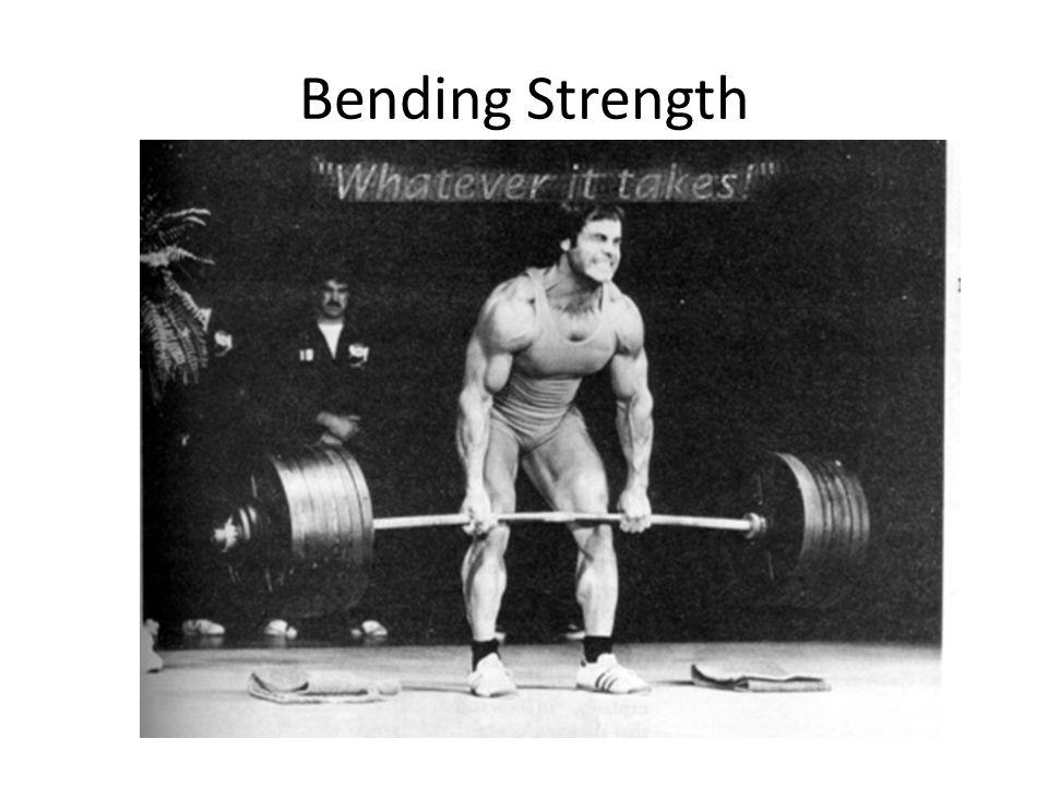Bending Strength