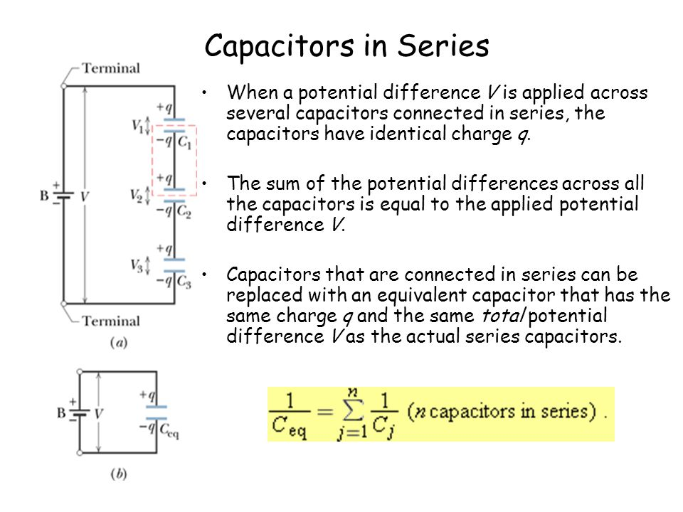 Sample Problem 1 (a) Find the equivalent capacitance for the combination of capacitances shown in Fig.