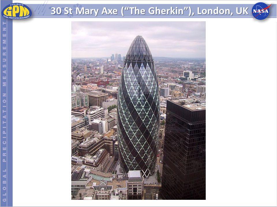 """30 St Mary Axe (""""The Gherkin""""), London, UK"""