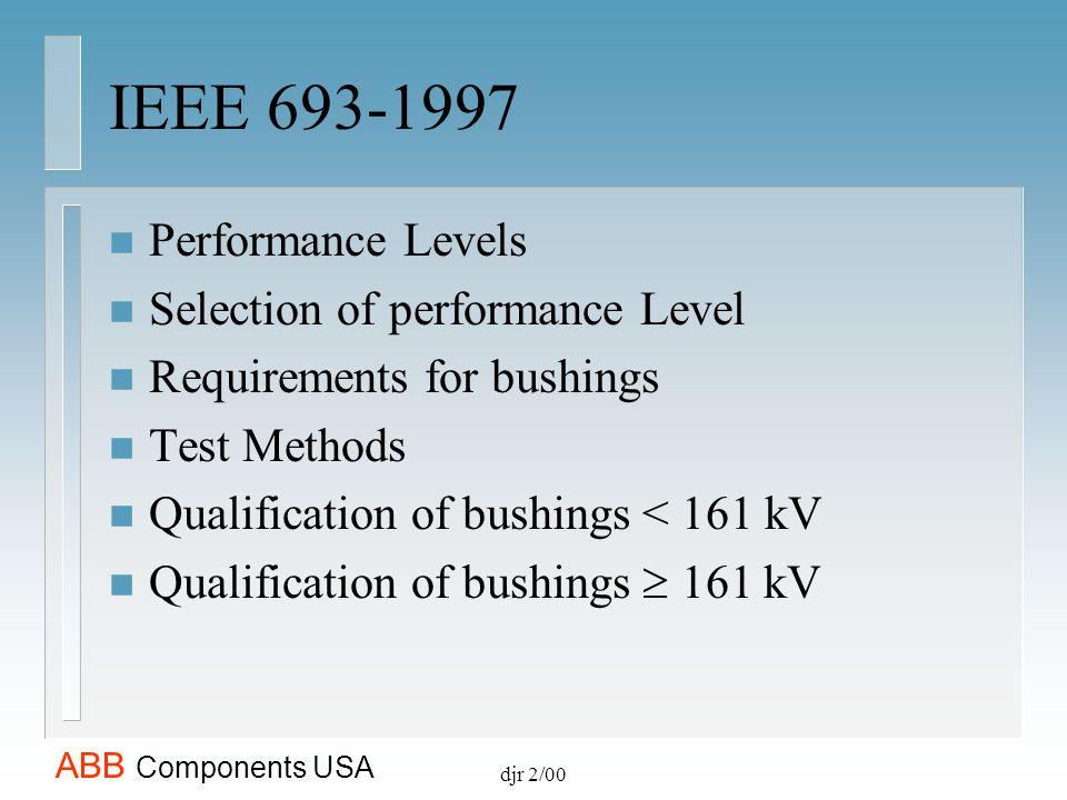 ABB Components USA djr 2/00 ABB Components USA