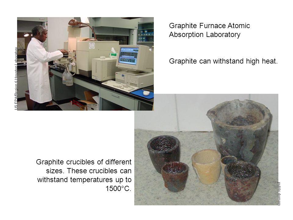 US EPA/Region 6 Houston Laboratory Graphite Furnace Atomic Absorption Laboratory Graphite can withstand high heat.