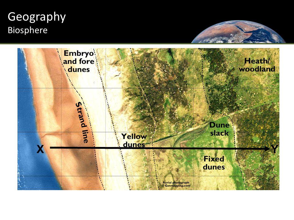 Geography Biosphere XY